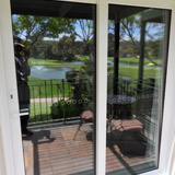 supply and installation of sliding glass doors